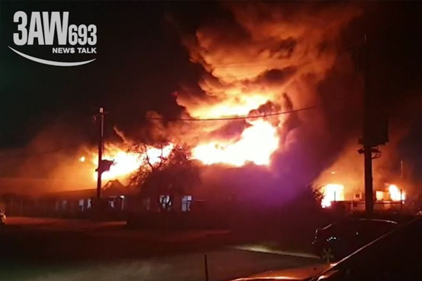 """Article image for Campbellfield fire likely to burn for """"a number of days"""": MFB Chief"""