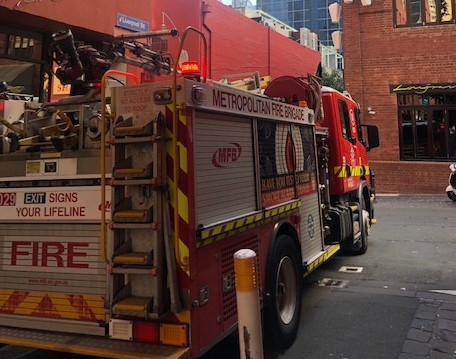 Article image for CBD gas leak likely to take hours to fix