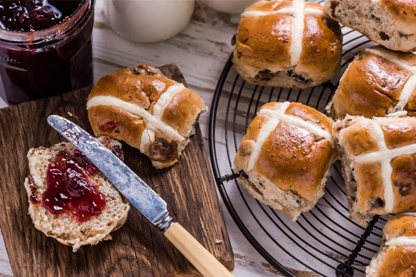 Article image for Wendy Hargreaves: 5 of the best hot cross buns