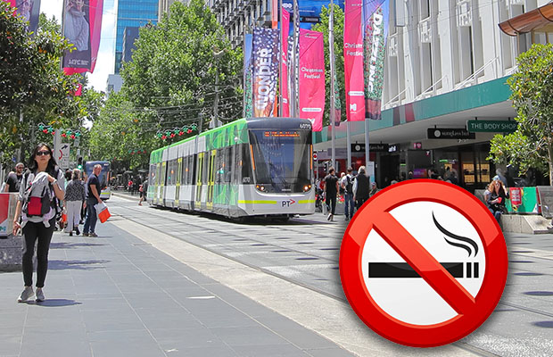 Article image for Puffers could be punted from Bourke St Mall
