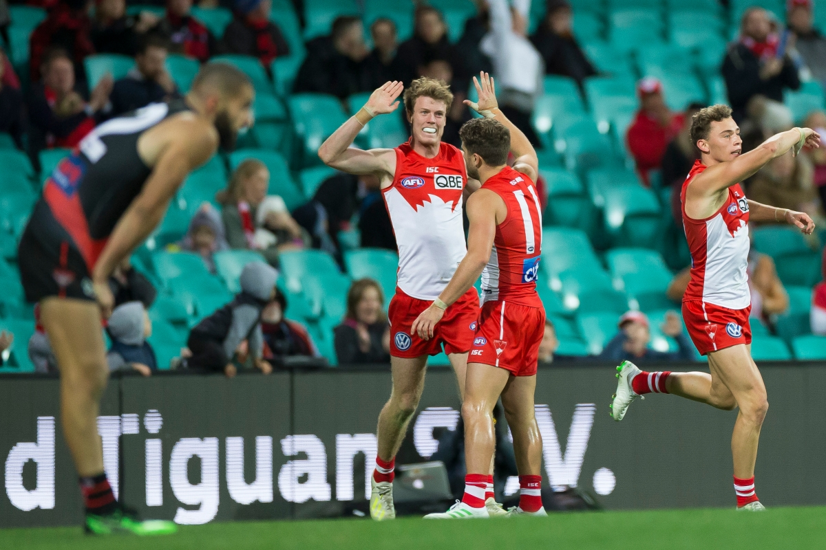 Article image for Swans defeat Dons in nail-biter match