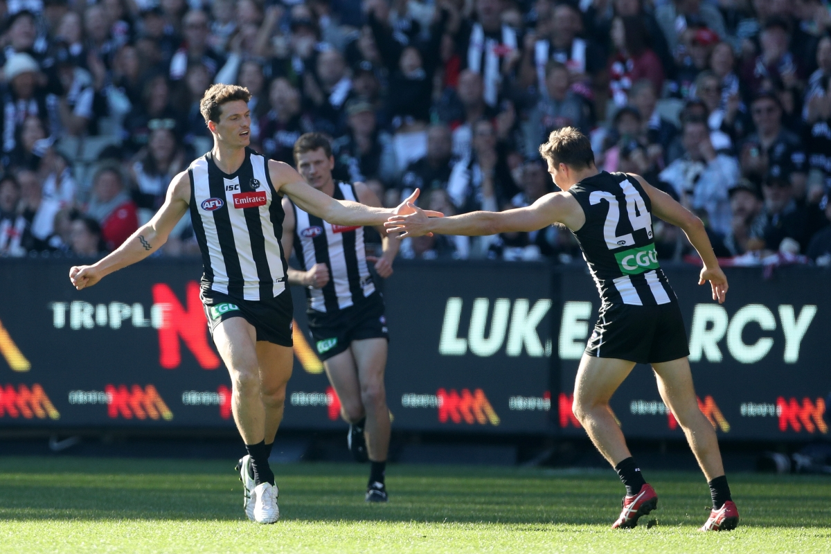 Article image for The Pies blow away the Saints by 41 points