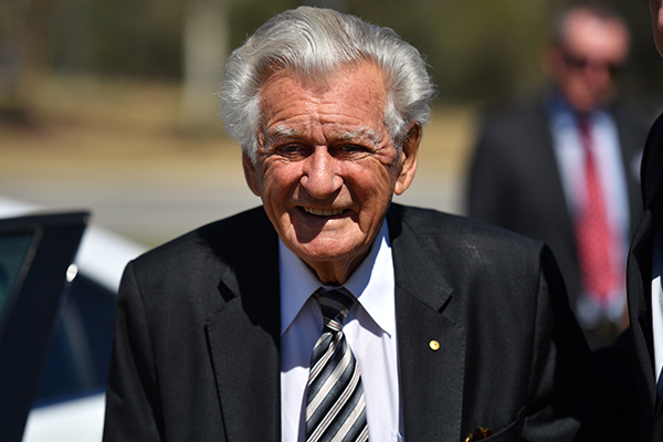Article image for BREAKING: Former Prime Minister Bob Hawke dies, aged 89