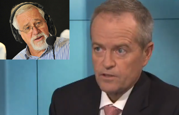 Article image for 'Bad Bill has arrived': Neil Mitchell concerned by Shorten's ABC interview