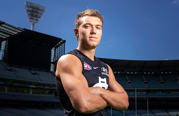 Article image for Carlton gun Patrick Cripps explains why he called 'players only' meeting full of 'home truths'