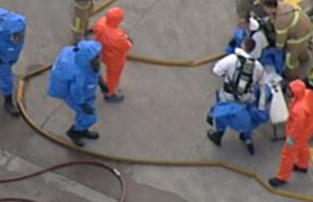Article image for At least seven people taken to hospital after chemical spill