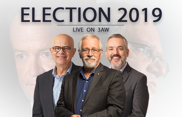 Article image for Election 2019: Live coverage with Neil Mitchell