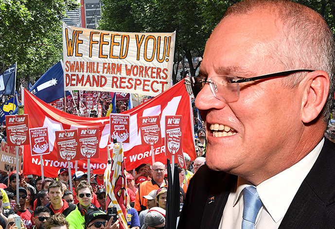 Article image for Union movement expecting a 'malicious' government attack
