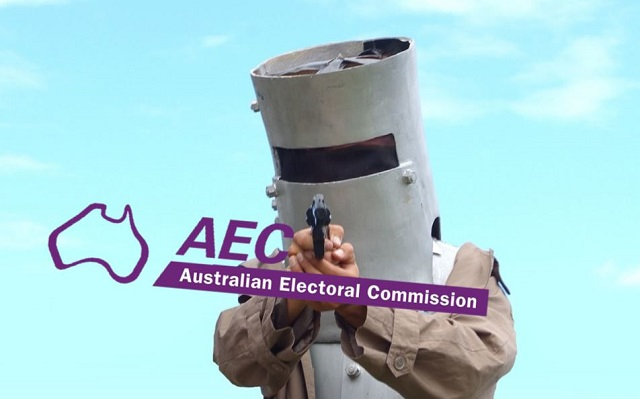 Article image for Ned Kelly wants to vote and the AEC aren't amused