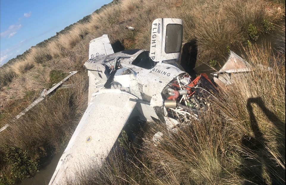 Article image for Plane crash at Tooradin Airport