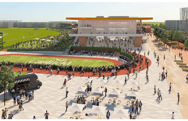 Article image for $300 million revamp for Caulfield racetrack — see the plans