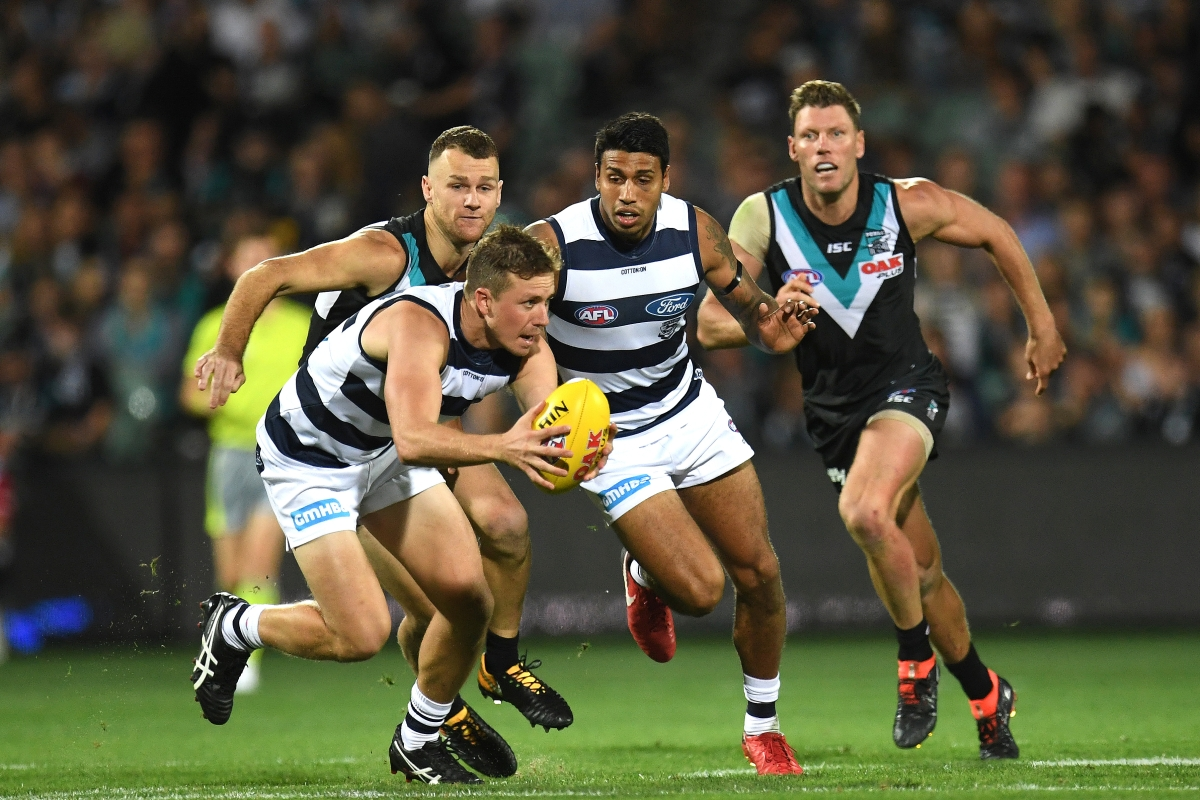 Article image for Power prove Geelong are not invincible