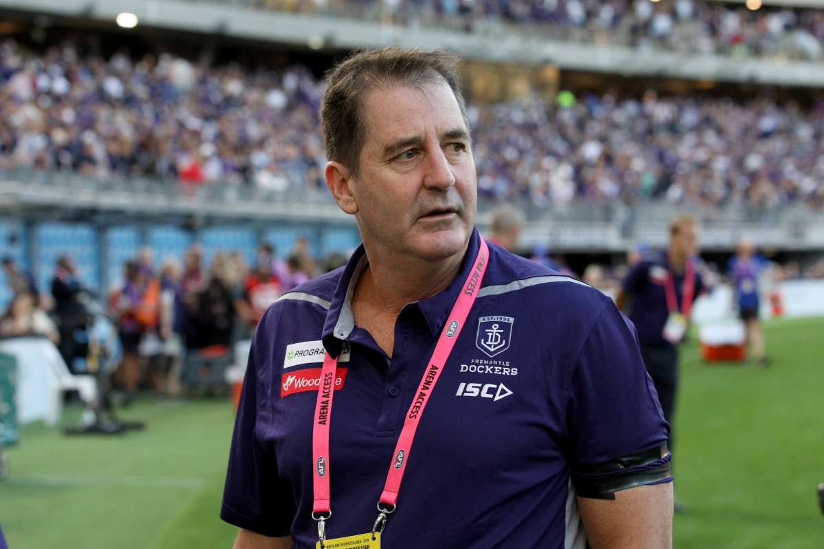 Article image for Steve Rosich's update on Ross Lyon's contract situation