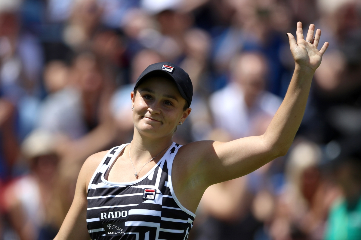 Article image for 'She's found her authenticity': Ash Barty's mentor reflects on her meteoric rise to world number one