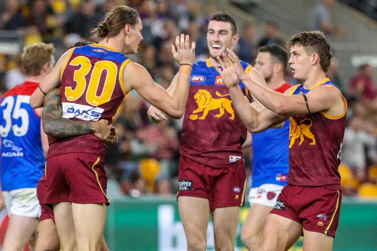 Article image for Hipwood hauls five goals to secure a Lions win