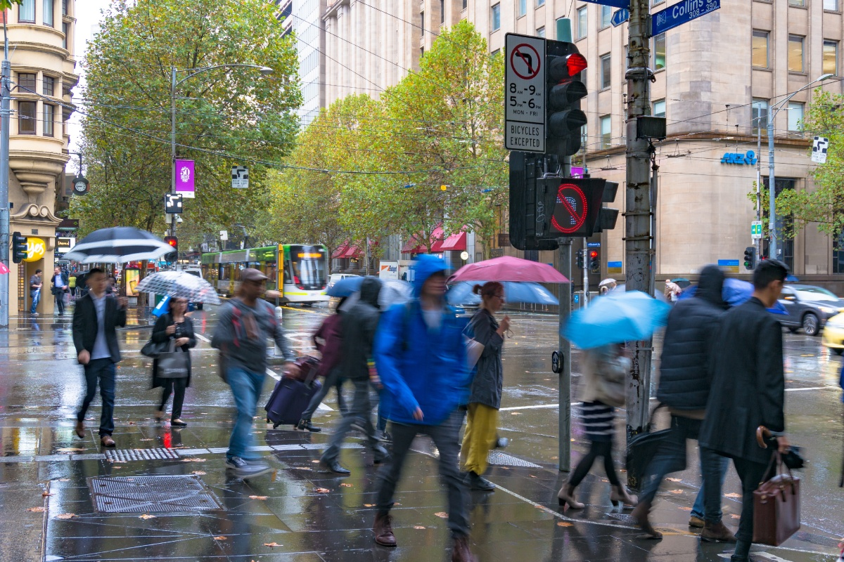 Article image for Drenching rain gets June off to promising start
