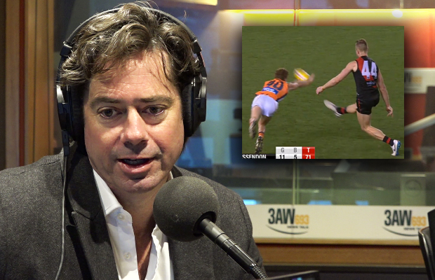 Article image for AFL boss weighs in on latest score review controversy