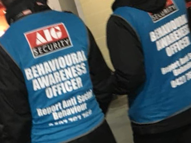 Article image for Marvel's new 'Behavioural Awareness Officers' are out in force