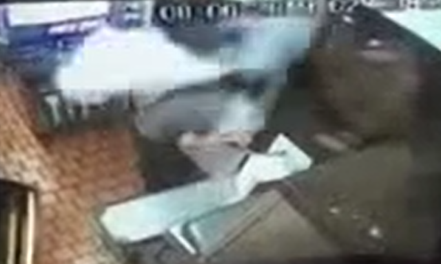 Article image for Woman targeted in drive thru fire extinguisher attack