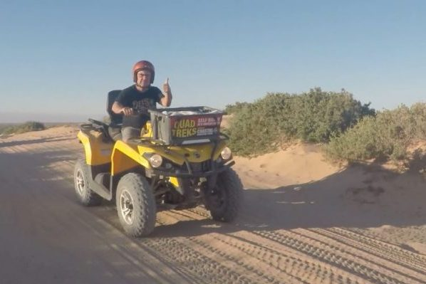 Article image for Steve Price ramps up the adventure levels on day three of his WA road trip