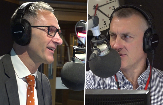 Article image for Tom Elliott and Greens leader clash over tax cuts
