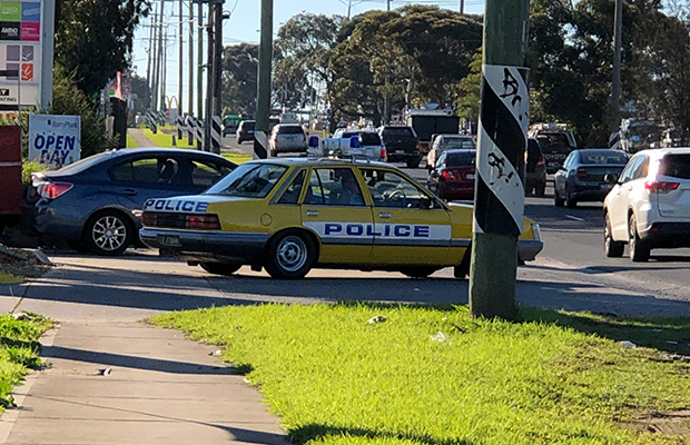 Article image for Victoria Police goes retro in bid to tackle speeding drivers