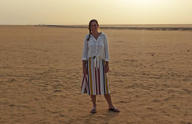 Article image for Holiday snaps: Kate Stevenson's incredible Egyptian adventure