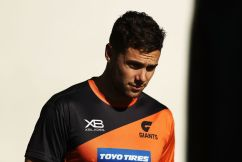GWS gun set to miss several weeks of footy