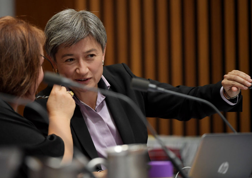Article image for Penny Wong responds to historic meeting between Trump and North Korea