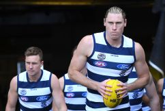 Geelong defender unfazed by claims the club has peaked 'too early'