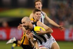 Star Collingwood midfielder refuses to call poor form a 'crisis'