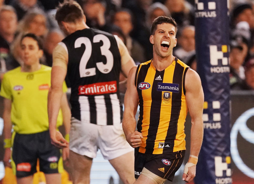 Article image for Hawthorn storms home to stun the Pies at the MCG!