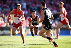 Blues beat Swans to register BIG Saturday afternoon win