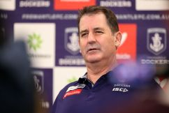 Ross Lyon 'bemused' and 'frustrated' by speculation about his coaching future