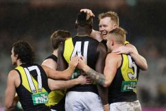 The Tigers flatten the Pies and knab their top four spot