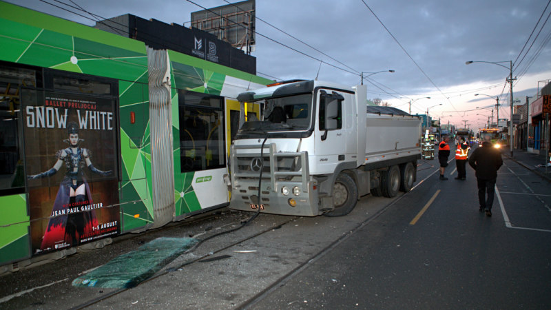 Article image for The number of pedestrians hit by trams has skyrocketed