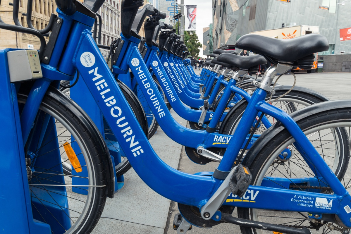 Article image for Melbourne's blue bike share scheme scrapped