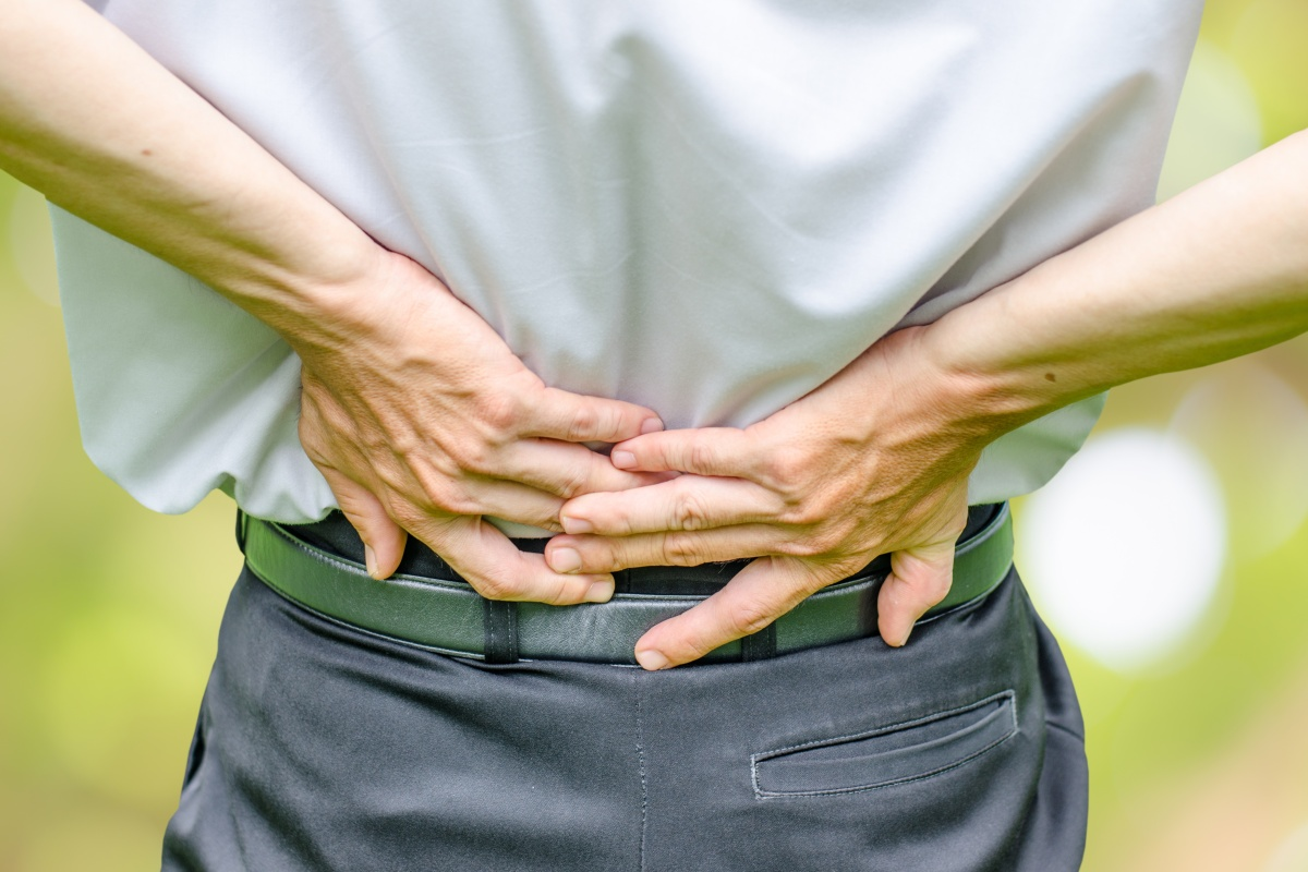 Article image for Sitting isn't to blame for back pain, study finds