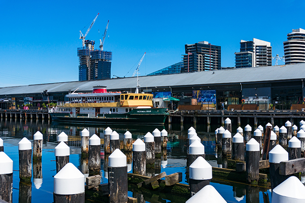 Article image for Docklands landmark evacuated: Central Pier closed over safety concerns