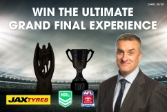Win The Ultimate Grand Final Experience!