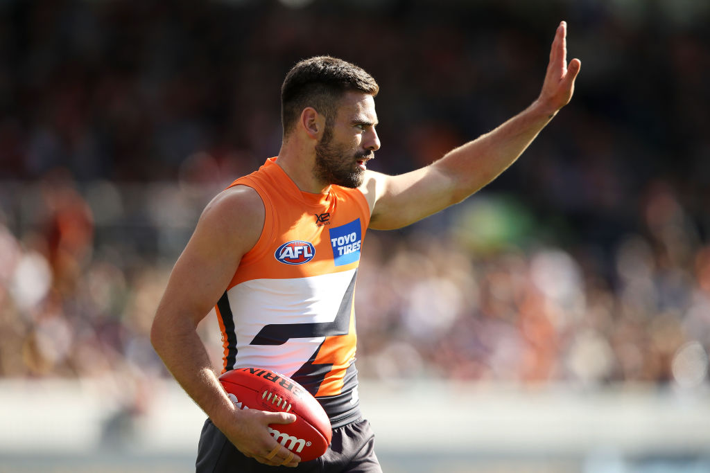 Article image for Stephen Coniglio signs for seven with GWS
