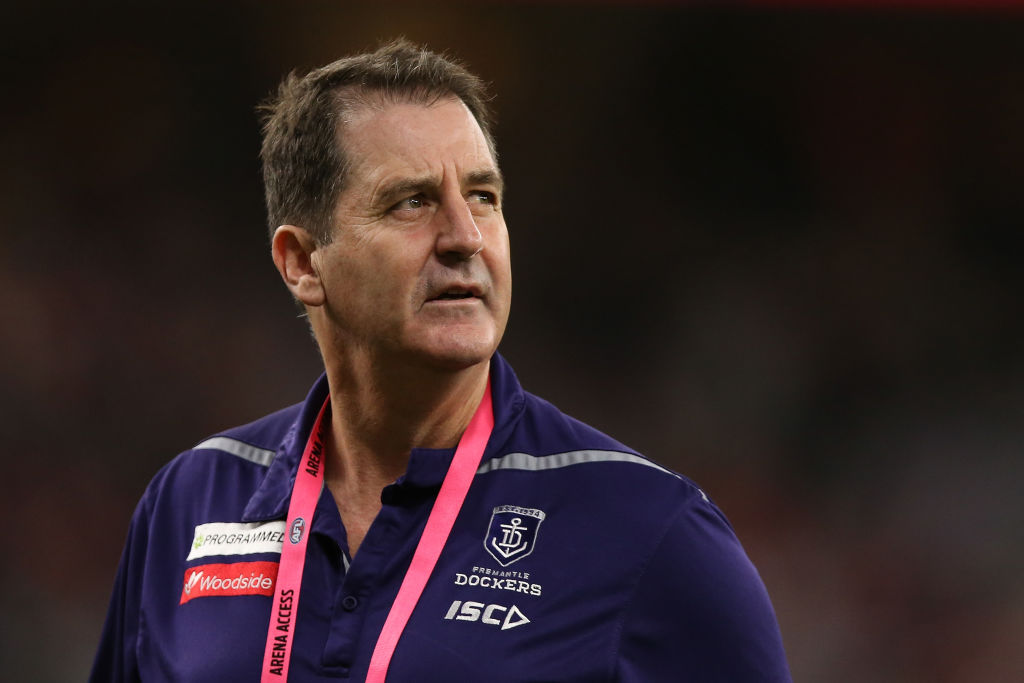 Article image for SACKED: Fremantle terminates Ross Lyon's contract