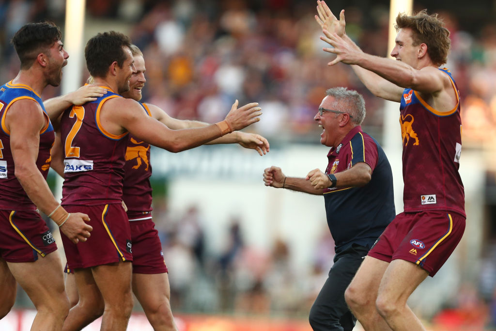Article image for Chris Fagan shares on THAT embrace after their one point victory