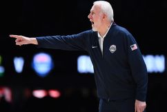 'That's a really strange looking ball': Gregg 'Pop' Popovich dropped by for a chat