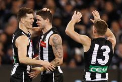 Collingwood are top four hopefuls after tonight's win