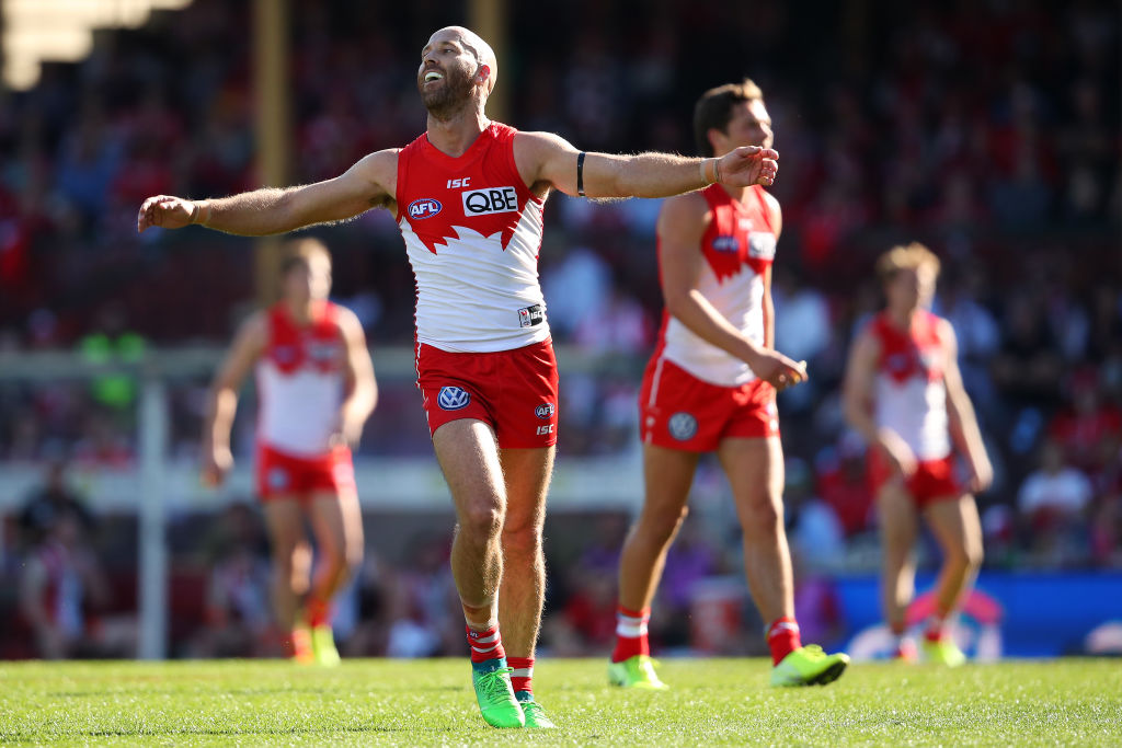 Article image for Swans triumph over Saints on emotional afternoon at the SCG