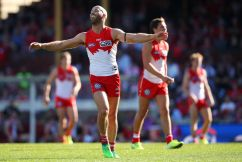 Swans triumph over Saints on emotional afternoon at the SCG