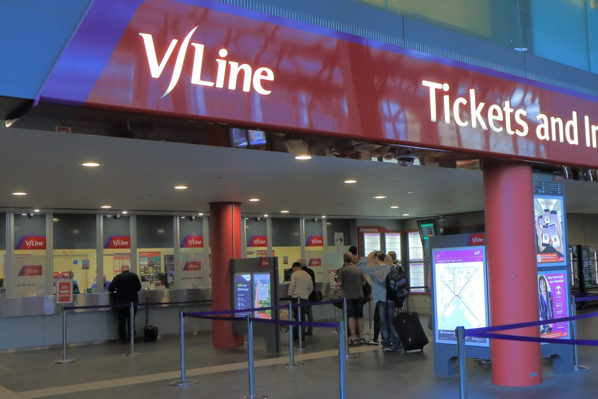 Article image for V-Line won't be scheduling extra services from Geelong before Friday night's final
