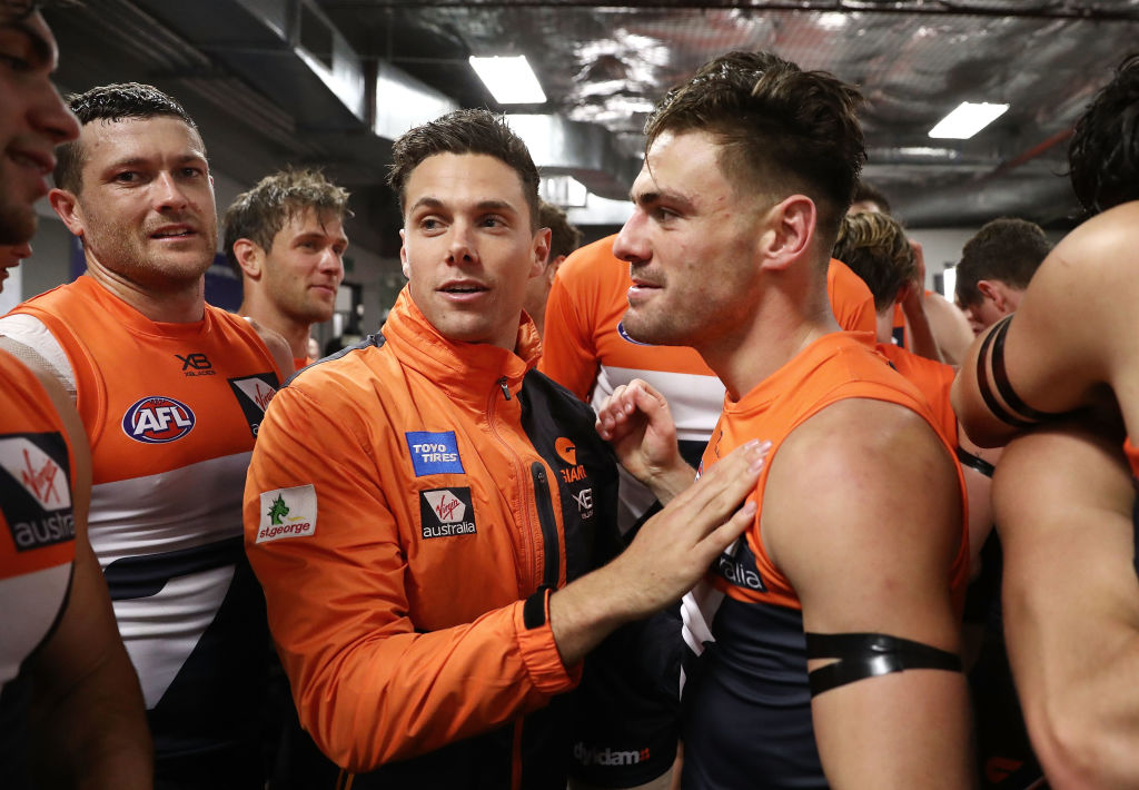 Article image for GWS star full of praise for Stephen Coniglio after his selfless grand final act