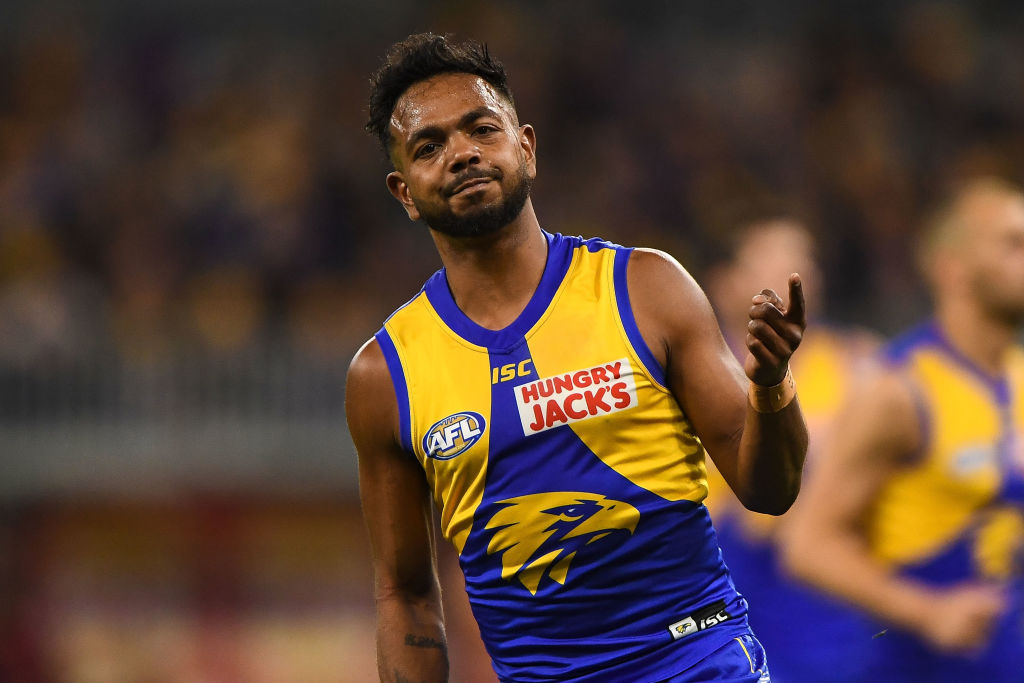 Article image for Test swap shock: Rioli 'a mess', facing four-year ban